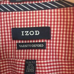 Izod Men's Varsity Oxford Sz 16 1/2 32/33 L
